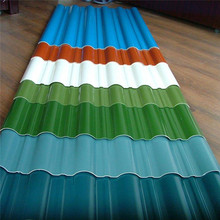 colorful stone coated metal galvanized corrugated steel sheet roofing tile