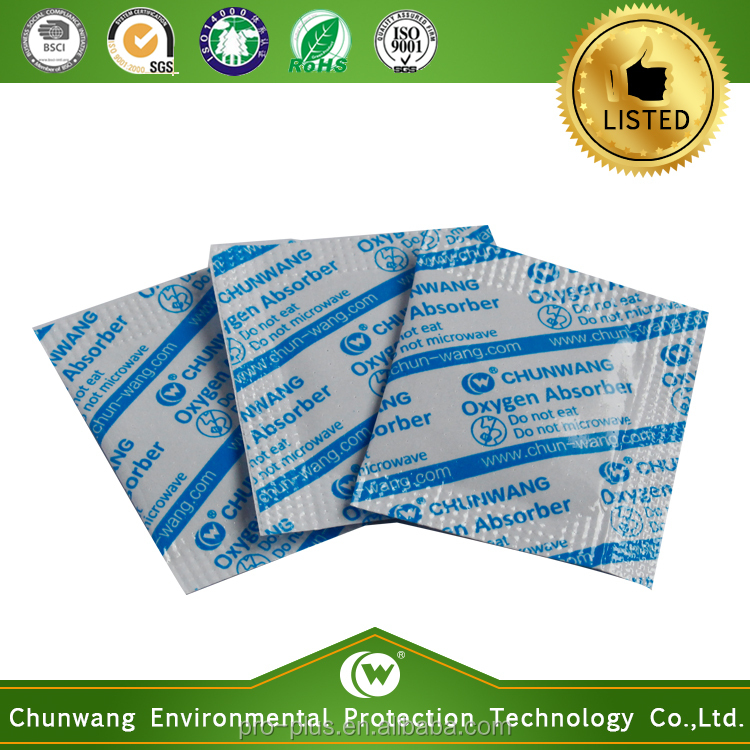 Made In China Chunwang Food Grade Oxygen Absorber For Dehydrated Vegetables