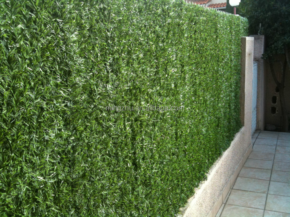 pvc weaving fence Artificial hedge garden fence hedge