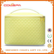 wholesale newest fashion pu leather travel cosmetic bag