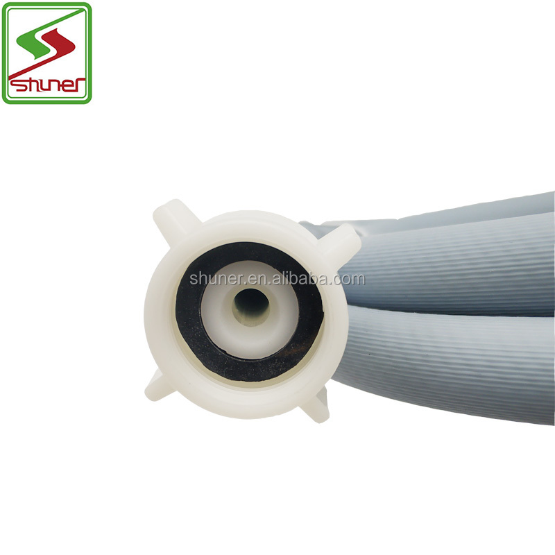 1.0M Auto Washing Machine Inlet Water Hose Double Screw Cap