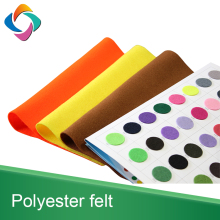 Top quality cheapest nonwoven polyester felts for handicrafts