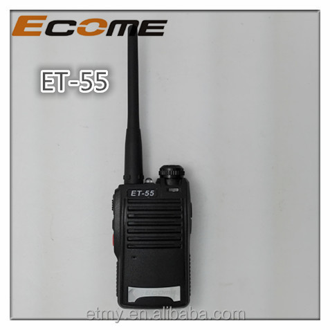 ECOME ET-55 portable amateur 16ch MINI two way radio