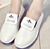 Spring and autumn new design fashion round head soft soled cool woman shoes