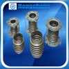 stainless steel bellows pipe compensator concrete expansion joint material
