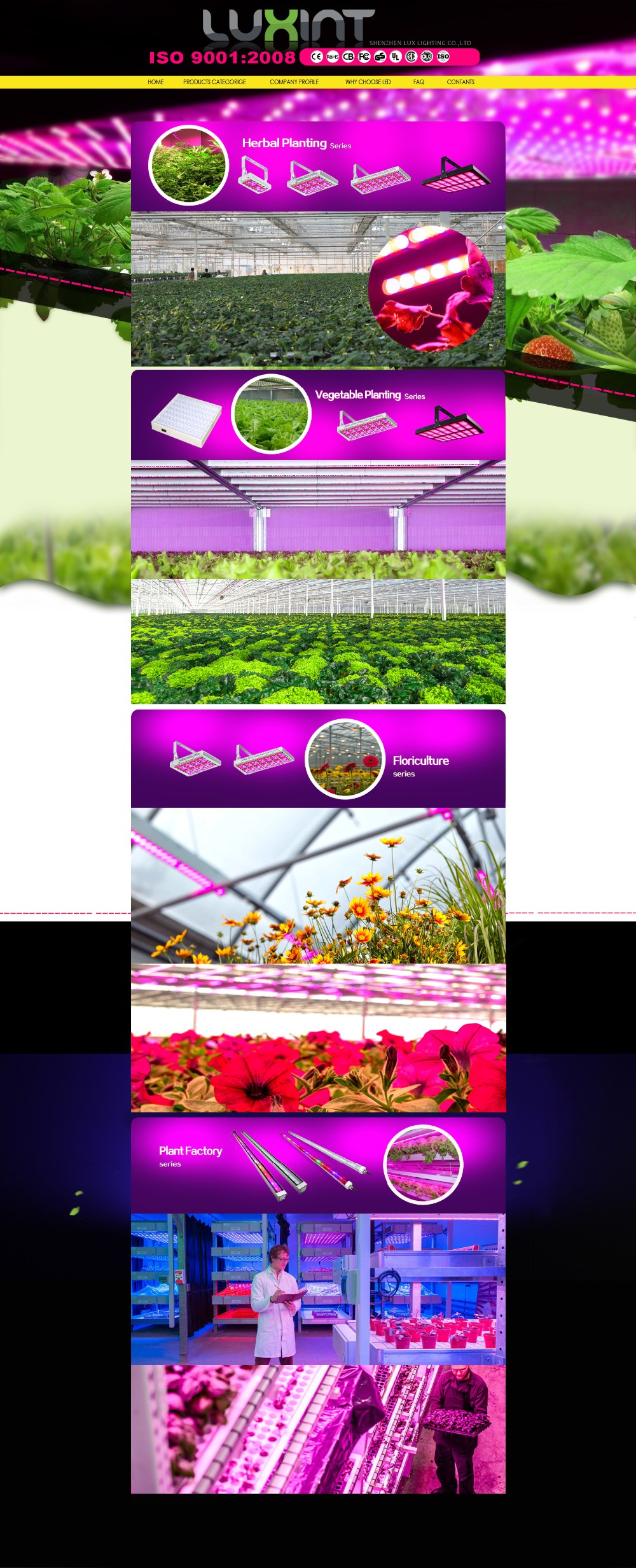 High quality Meanwell Driver Full Spectrum 50w led grow light with Waterproof for Indoor plant