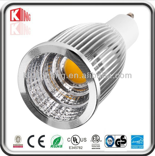 Factory Wholesale 700LM led gu10 dimmable bulbs 7 watt warm white