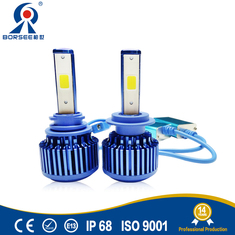 Borsee A7 Led headlight 9012 6000K 80W 8000lm Car canbus LED Bulb Headlight car Light Conversion Kit