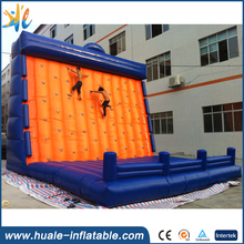 Adult commercial climbing wall giant outdoor inflatable rock climbing sport game