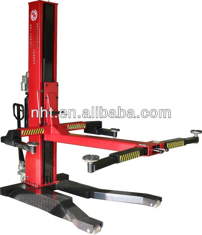 Single Hydraulic Automotive Lifts : Single post car lift nht dz tb buy one hydraulic