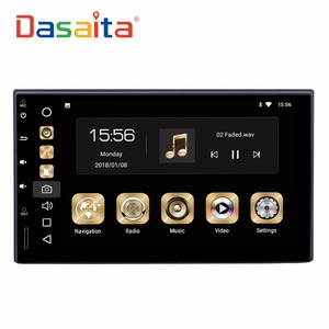 DASAITA Android 8.0 7 inch touch screen 2 din universal car stereo GPS Navigation without DVD loader