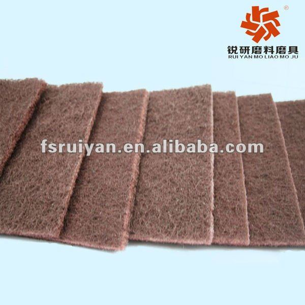 scouring pad material