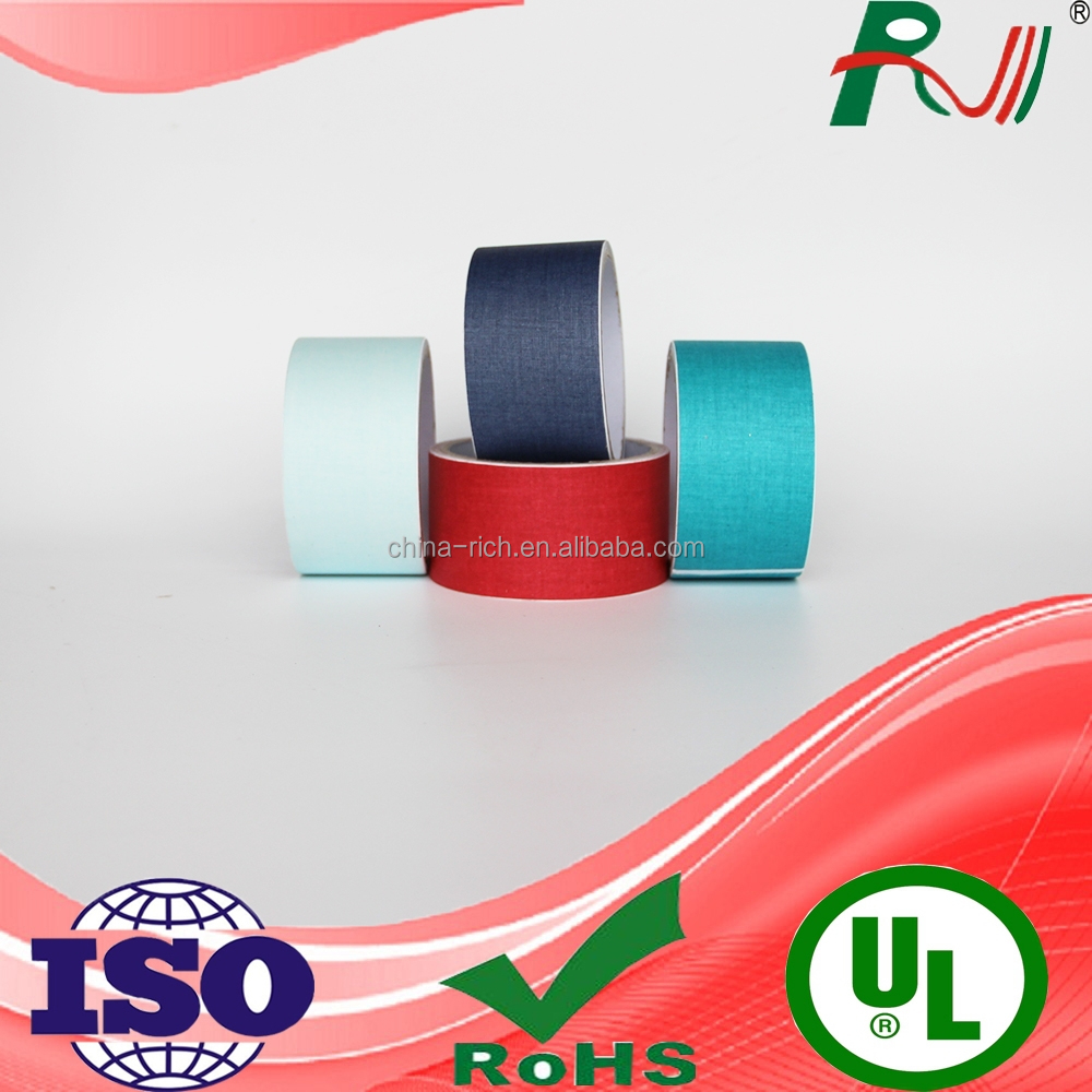 strong self adhesive cotton fabric tape from jumbo roll