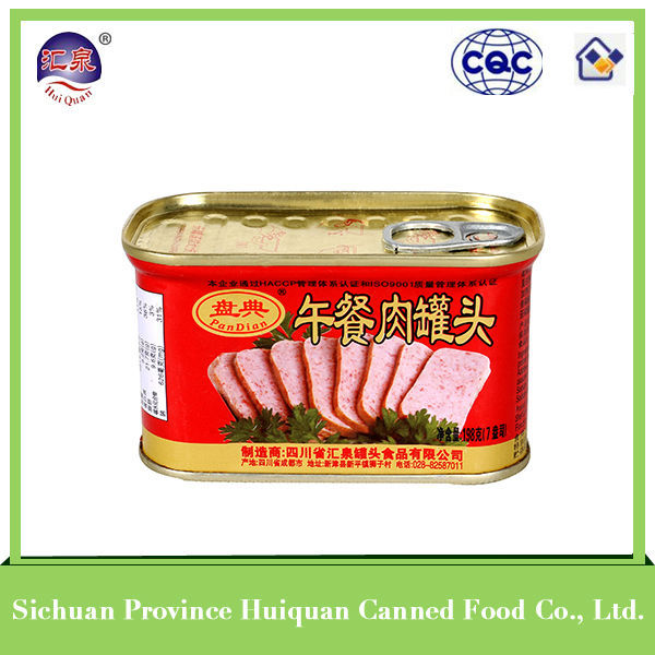 china wholesale chinese food stewed pork ribs canned pork luncheon meat