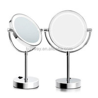 Trade assurance cosmetic desk framed half silvered mirror