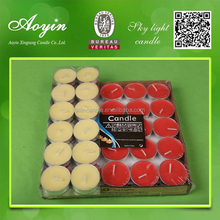 Wholesale Scented Decoration Color Tealight Candles