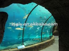 Customized Clear Acrylic Plexiglass Aquarium Tunnel