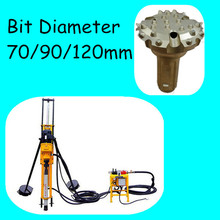 2016 hot Sale pneumatic hammer drill rig machine used borehole drilling machine for sale