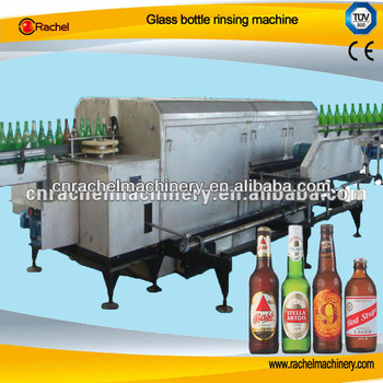 Glass bottle rinsing machine equipment
