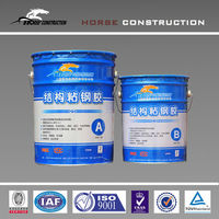 epoxy resin, sticking steel board putty, cement wall repairing use