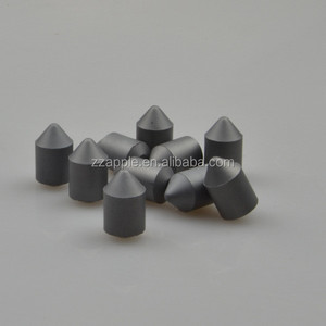 High performance 6-facet tungsten carbide anvils