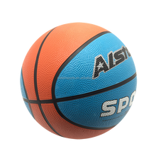 Innovative Designed Famous Mix Colored Rubber Basketball For Sports