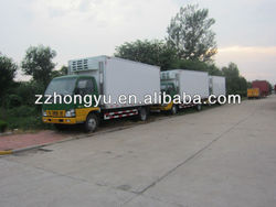 Best Quality new freezer van sale/cooling box truck