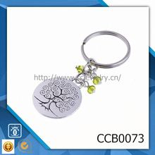 metal key chain blank keyrings wholesale new led sound keychain
