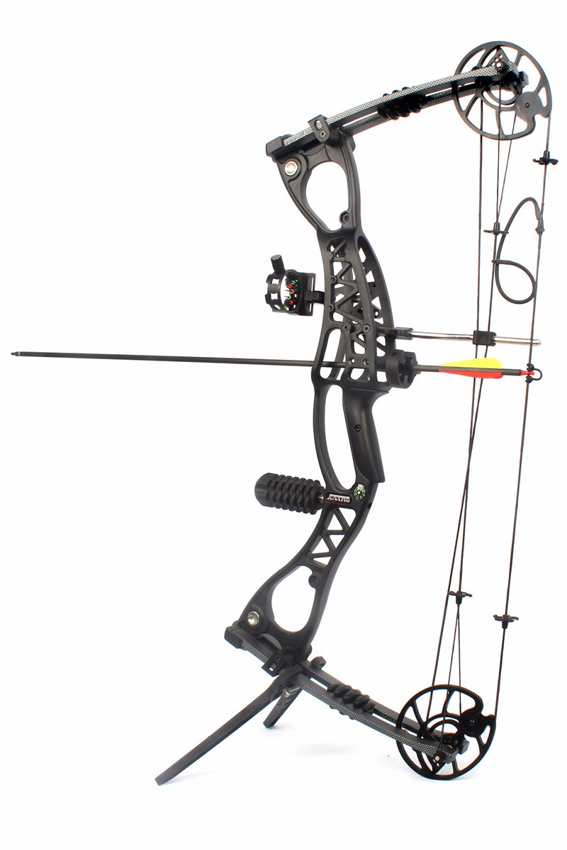 JUNXING Archery Compound Bow M127,Completely Package,320FPS,AXLE-AXLE 30""