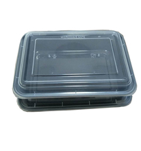 LIDUO PP take away disposable 34 oz food container with lid