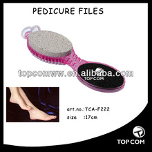 3 in 1 multipurpose pumice stone,pumie brush,pedicure file on rope