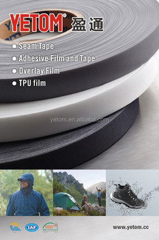 high competitive price for PU or TPU+PU .3-layer seam sealing tape