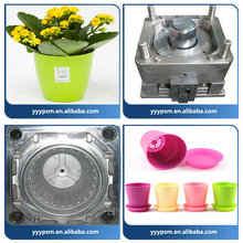 cheap plastic flower pot injection mold making