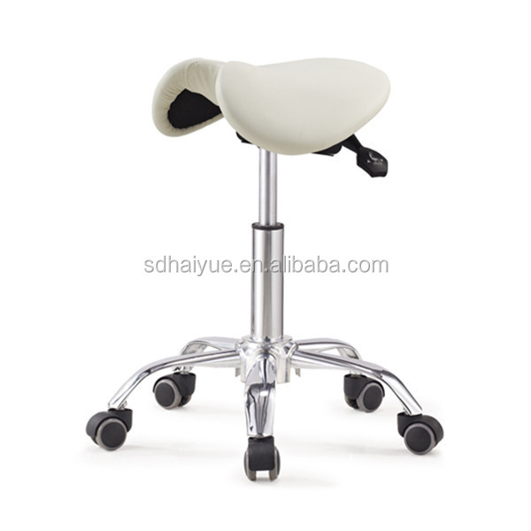 Saddle seat barstool adjustable height dentist chair new design master chair for beauty salon