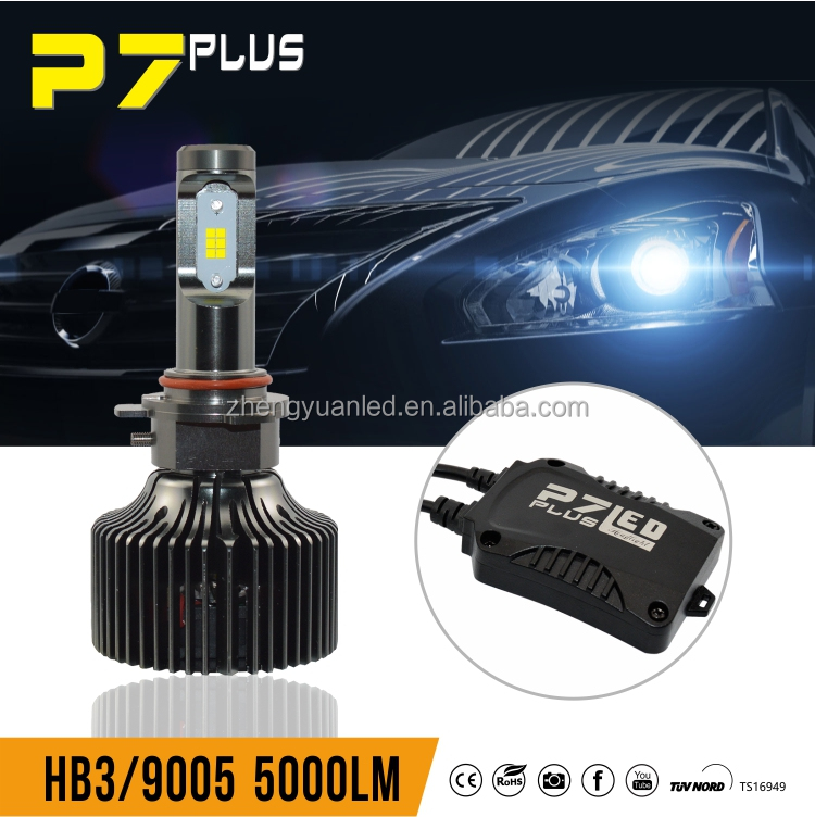 New accessories for car 2016 9005 led headlight bulb led 9006 headlight manufactures in high lumens led 12v
