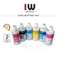 Inkworld sublimation ink for epson Surecolor T3000/T5000/T8000 dye ink sublimation