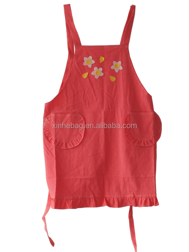 3 pocket half waist cotton apron