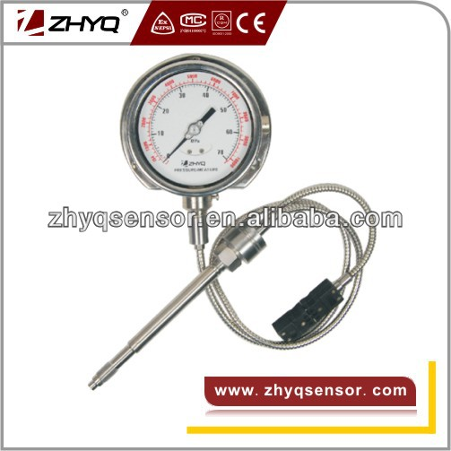 3.33mV/V and J type output melt pressure gauge