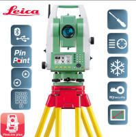 low price high accuracy Leica Flexline Total Station TS06 plus