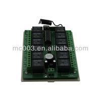 12V 12Ch Controller Wireless Remote Module Switch Board Remote Controller