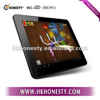 9.7 inch IPS 1024x768 high resolution Dual camera 1G RAM Bluetooth HDMI wifi cheap tablet pc android 4.0
