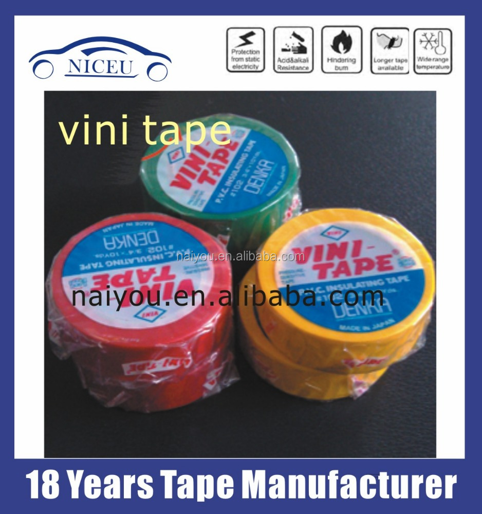 DENKA #102 3/4 VINI PVC electrical tape made in Japan