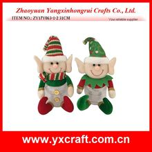Christmas decoration (ZY17Y063-1-2 31CM) christmas style holiday elf candy jar