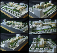 Scale Model of General Central Parkway School /public building planning scale model /architectural scale model maker