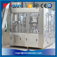 Commercial carbonated soft drink filling and packaging machine