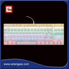 Gaming Keyboard Mechanical Wired switch be similar with Cherry MX Brown Switch Backlight 87Keys Design