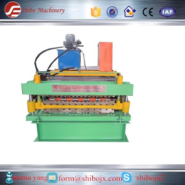 great quality double deck roll forming machine for roof and wall on sale