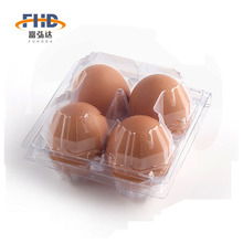 Factory custom high quality clear disposable egg tray for sale