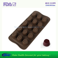 Cupcake Chocolate Silicone Mold Icing Cake Mold Maker Cake Tool