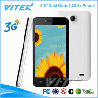 Andriod 4.5 inch Mobile Phone mediatek MT6572 Dual Core 1.2GHz